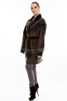 Короткое пальто из астрагана под пояс_1