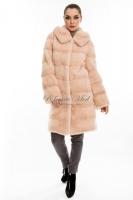 Норковое пальто с капюшоном_0